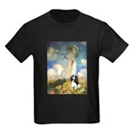 Umbrella / Tri Cavalier Kids Dark T-Shirt
