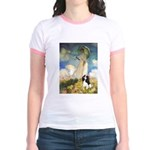Umbrella / Tri Cavalier Jr. Ringer T-Shirt