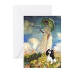 Umbrella / Tri Cavalier Greeting Cards (Pk of 10)