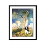 Umbrella / Tri Cavalier Framed Panel Print