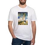 Umbrella / Tri Cavalier Fitted T-Shirt
