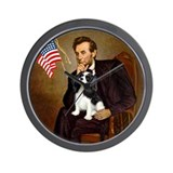 Lincoln & Tri Cavalier Wall Clock