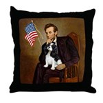 Lincoln & Tri Cavalier Throw Pillow