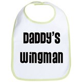 Daddy's Wingman Bib