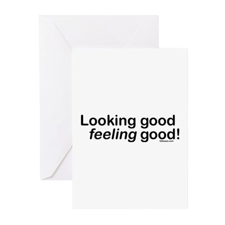 Looking Good Feeling Good Greeting Cards (Package