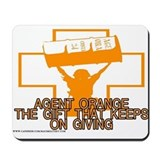 AGENT ORANGE THE GIFT Mousepad