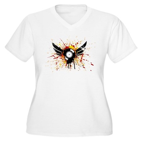 Be The Best! Women's Plus Size V-Neck T-Shirt