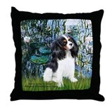 Llilies (1) & Tri Cavalier Throw Pillow