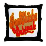 Bom Chicka Wah Wah Throw Pillow