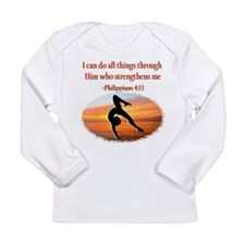 GYMNAST PHILIPPIANS Long Sleeve Infant T-Shirt