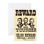 Wanted The Youngers Greeting Cards (Pk of 10)