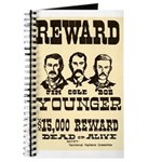 Wanted The Youngers Journal