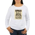 Wanted The Youngers Women's Long Sleeve T-Shirt