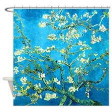Van Gogh Blossoming Almond Tree Shower Curtain