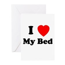 My Bed Greeting Cards (Pk of 10)