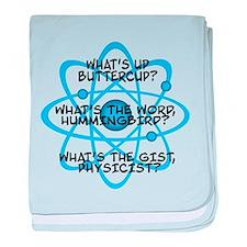 Cute Big bang quotes baby blanket