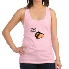 Taco Night Racerback Tank Top