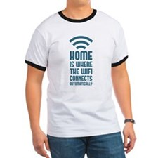 Home Is Where The WIFI Connects Automatically T-Sh