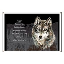 Wolf Totem Animal Spirit Guide for Inspiration Ban