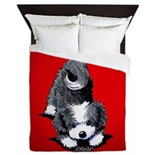 Havanese Bow Queen Duvet