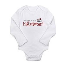 Cute Pregnancy christmas Long Sleeve Infant Bodysuit
