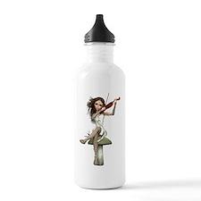 Cute Music viola Water Bottle