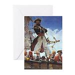 Blackbeard PirateGreeting Cards (Pk of 10)