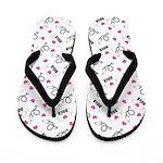 2015 best nurse Flip Flops