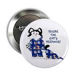 """Cartoon cat 2.25"""" Button (10 pack)"""