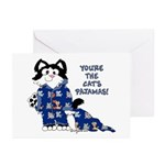 Cartoon cat Greeting Cards (Pk of 10)