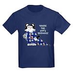 Cartoon cat Kids Dark T-Shirt