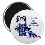 """Cartoon cat 2.25"""" Magnet (10 pack)"""