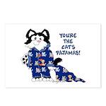 Cartoon cat Postcards (Package of 8)