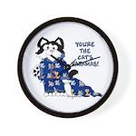 Cartoon cat Wall Clock