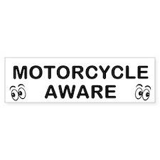 Motorcycle Aware Bumper Bumper Sticker