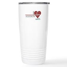 I Heart Addison Stainless Steel Travel Mug