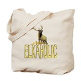Elkaholic gear and gifts  Tote Bag
