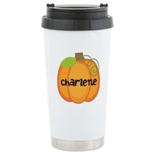 Personalized Halloween Pumpkin Travel Mug