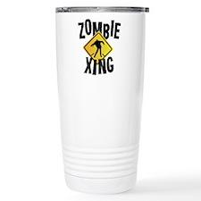 Zombie Crossing Travel Mug