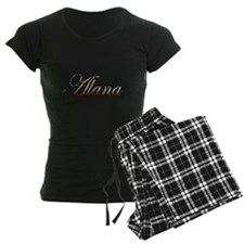 Gold Alana Pajamas