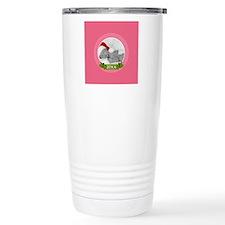 Photo Frame with Year Pink Travel Mug