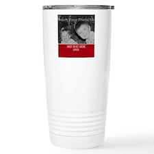 Completely Custom Red Travel Mug