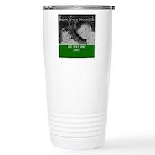 Completely Custom Green Travel Mug