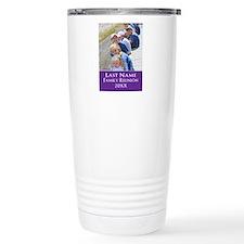 Family Reunion Photo Purple Travel Mug