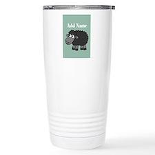 Black Sheep Add Name Mint Travel Mug