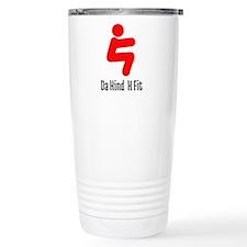 D Kind Cross Fit Red Logo Travel Mug