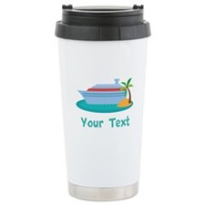 Personalized Cruise Ship Travel Mug
