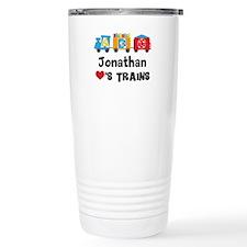 Personalized Kids Train Travel Mug