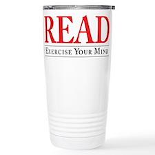 Read. Exercise. Travel Mug