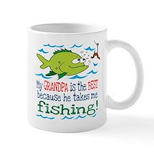 My Grandpa Takes Me Fishing Mug